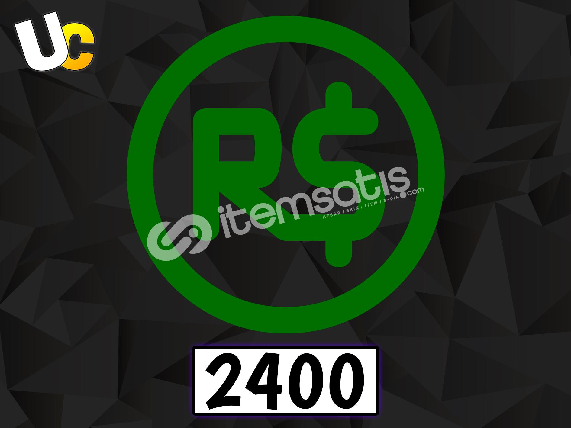 2400 Robux
