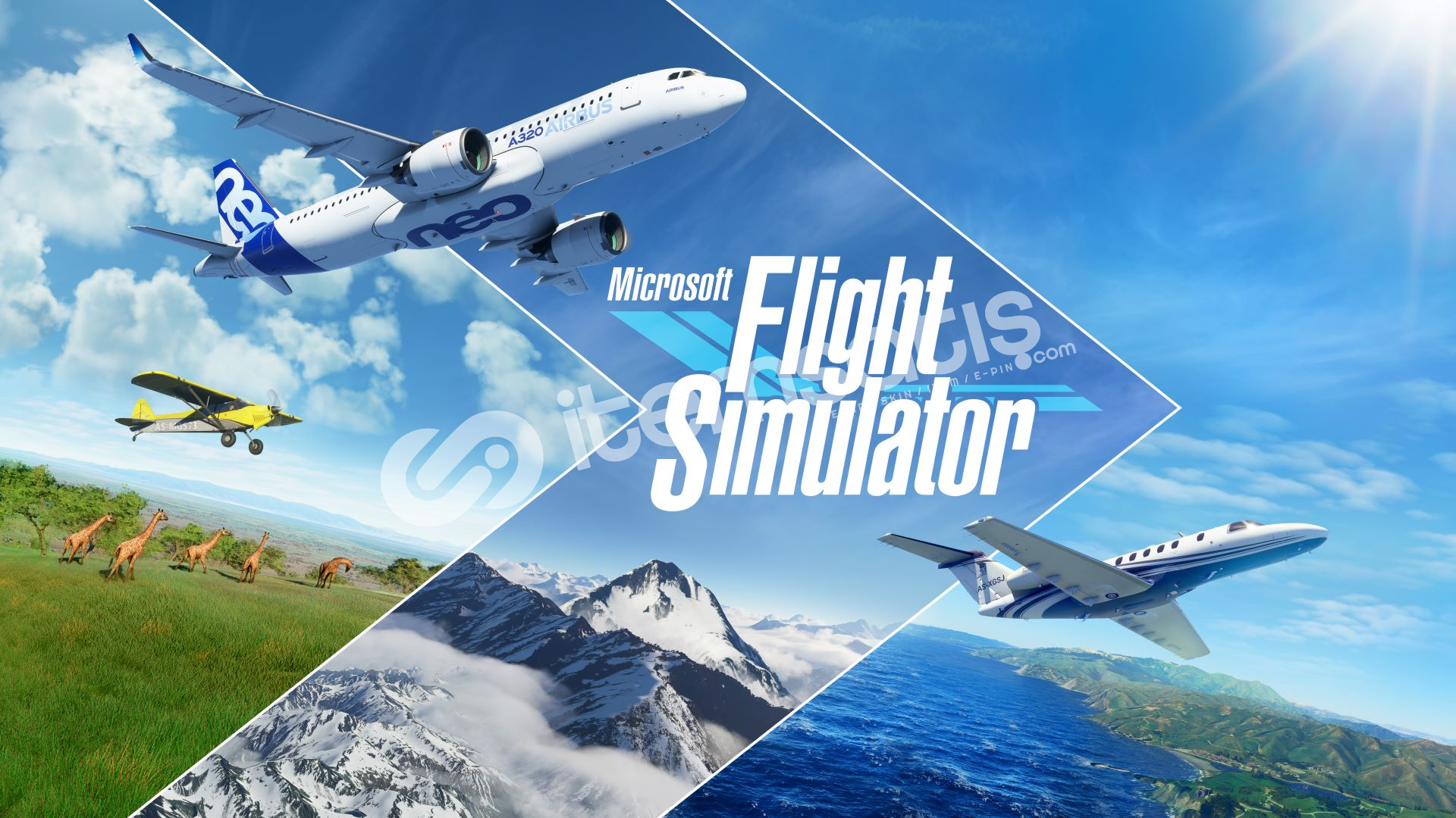 Microsoft Flight Simülatör + Garanti + Hediye