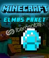 MİNECRAFT ELMAS PAKET