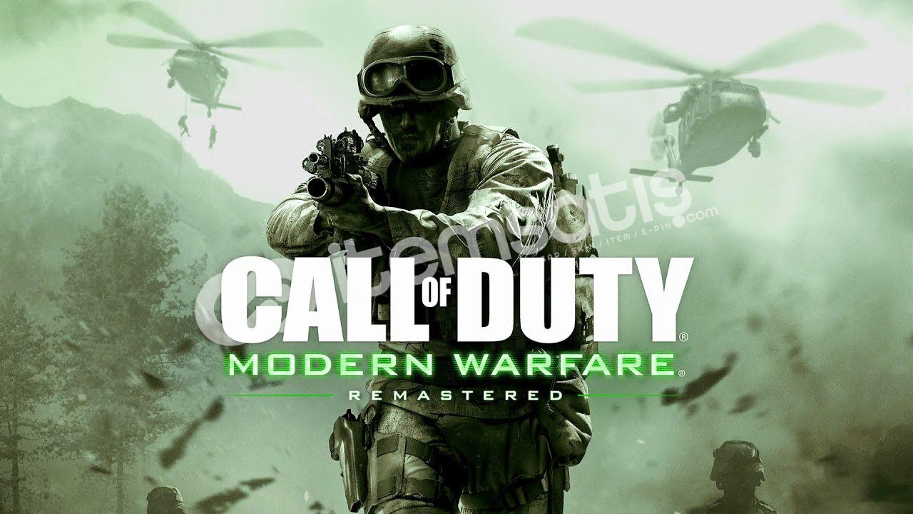 Call of Duty 4: Modern Warfare Ve Half life 2 artı ek oyunla
