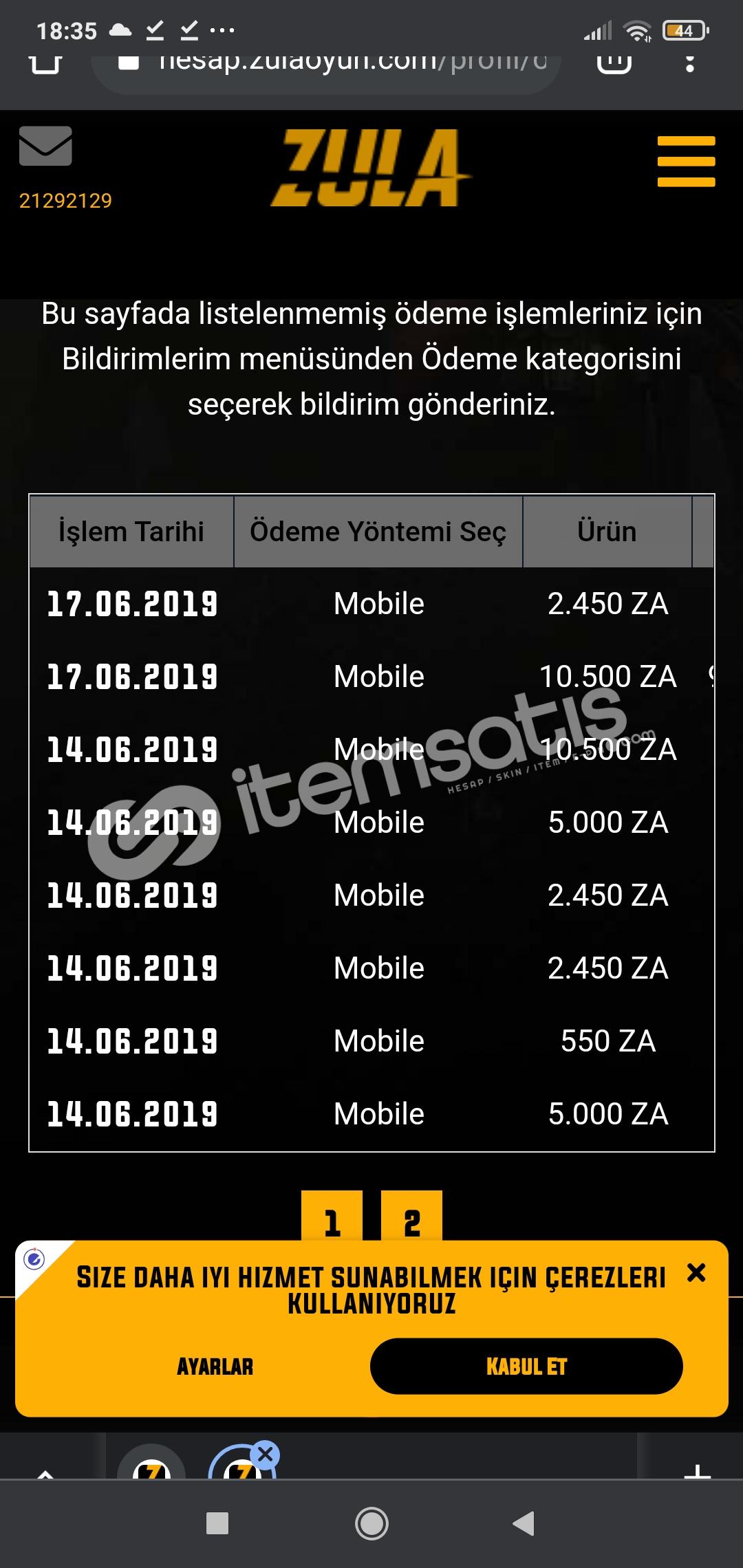 500 lira yatırılmış hesap