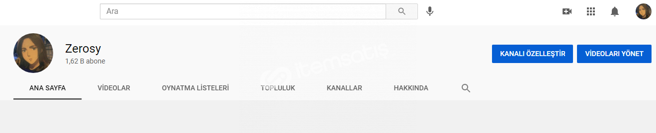 YouTube 1.6K Aboneli, Kemik Kitleli Kanal