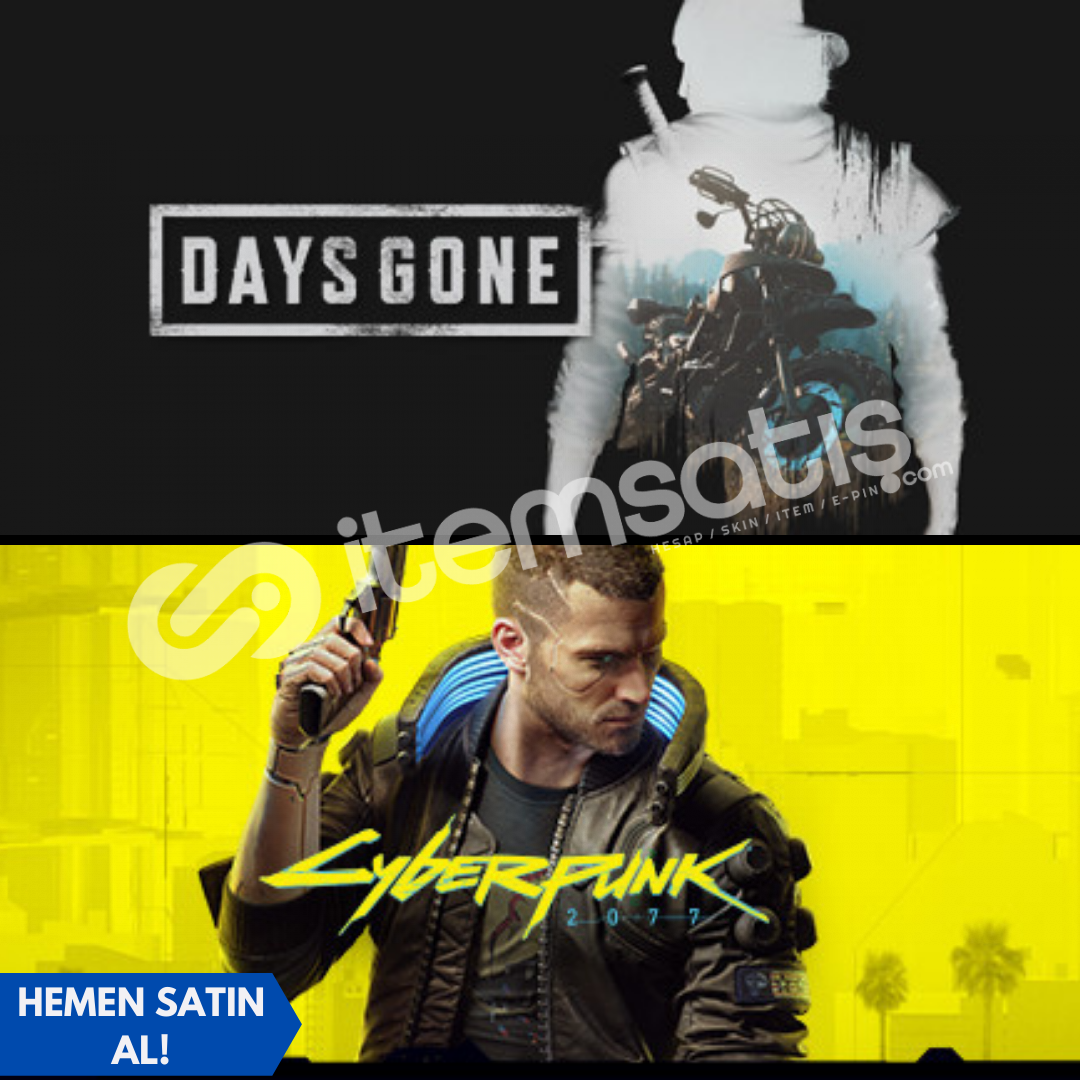 Days Gone + Cyberpunk 2077 + Garanti!