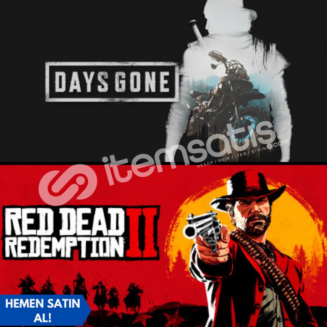 Days Gone + Red Dead Redemption 2 + Garanti!
