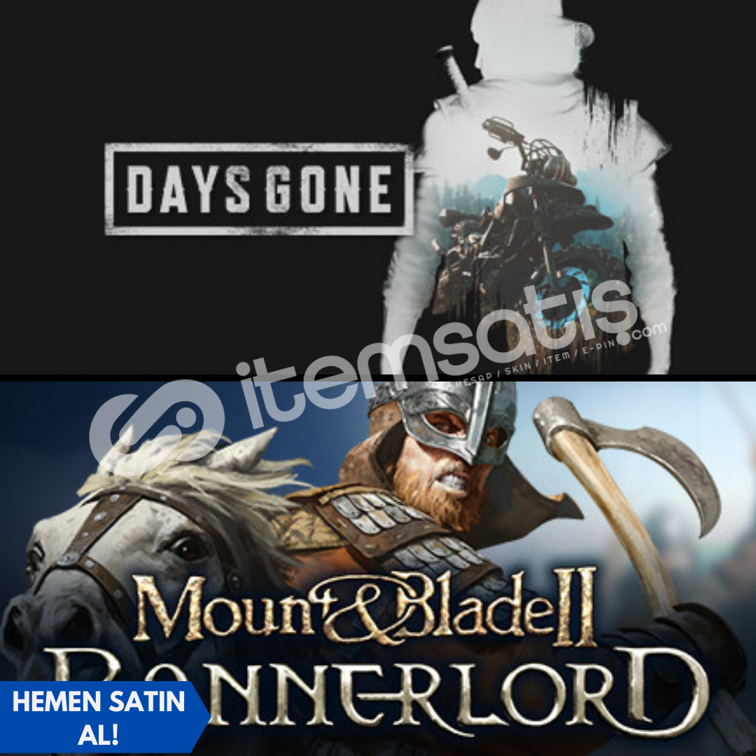 Days Gone + Mount and Blade 2 Bannerlord + Garanti!