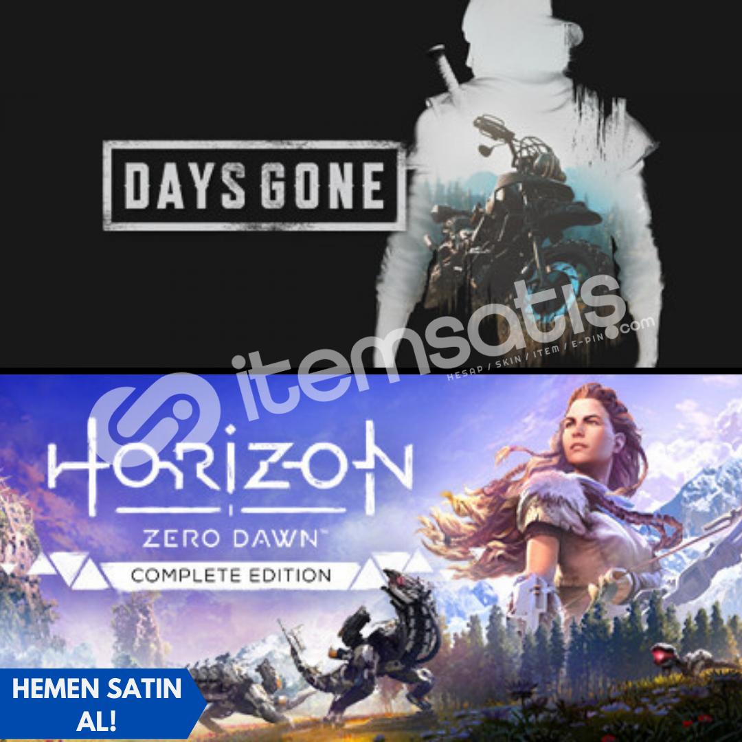 Days Gone + Horizon New Dawn + Garanti!