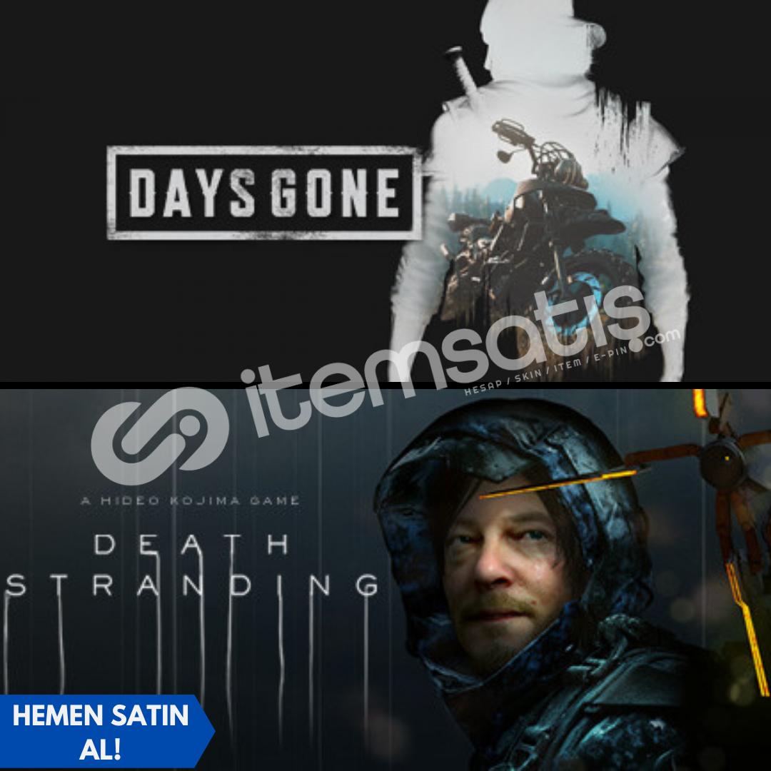 Days Gone + Death Stranding + Garanti!