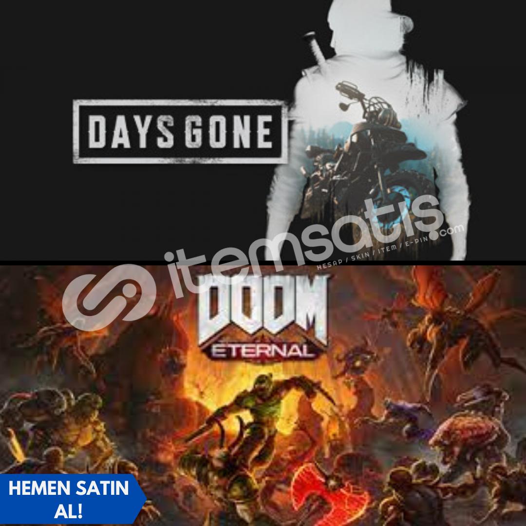Days Gone + Doom Eternal + Garanti!