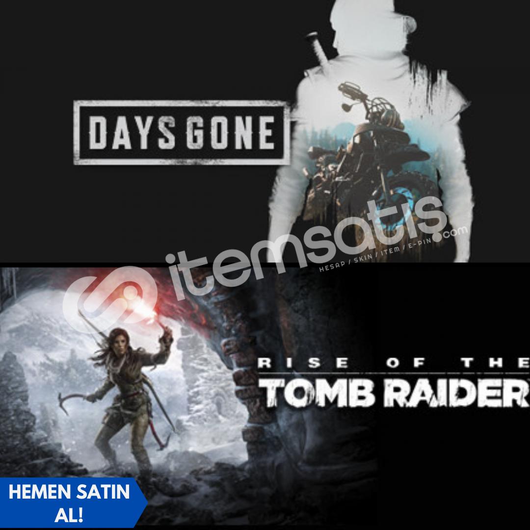 Days Gone + Rise of The Tomb Raider + Garanti!