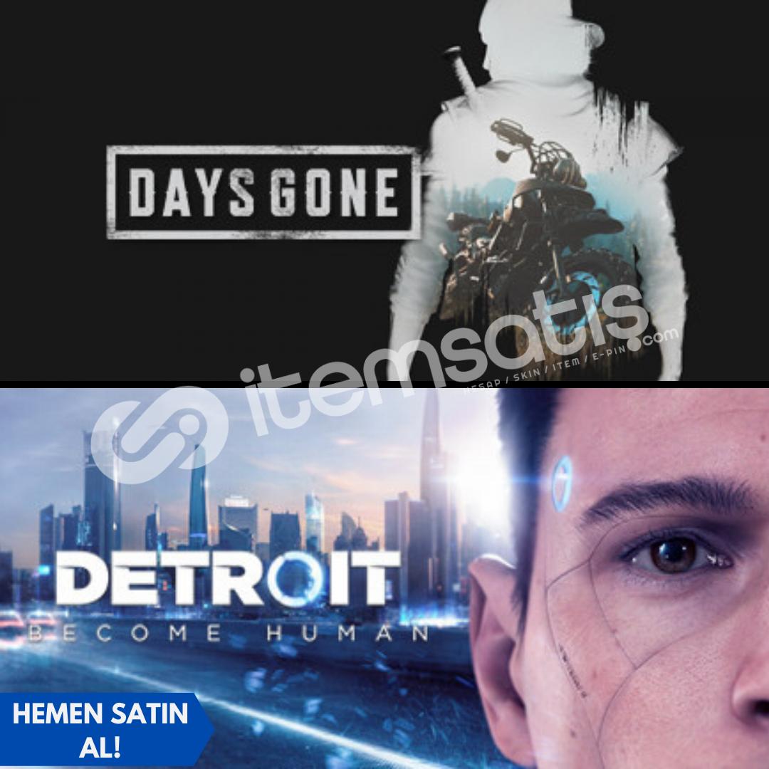 Days Gone + Detroit Become Human + Garanti!