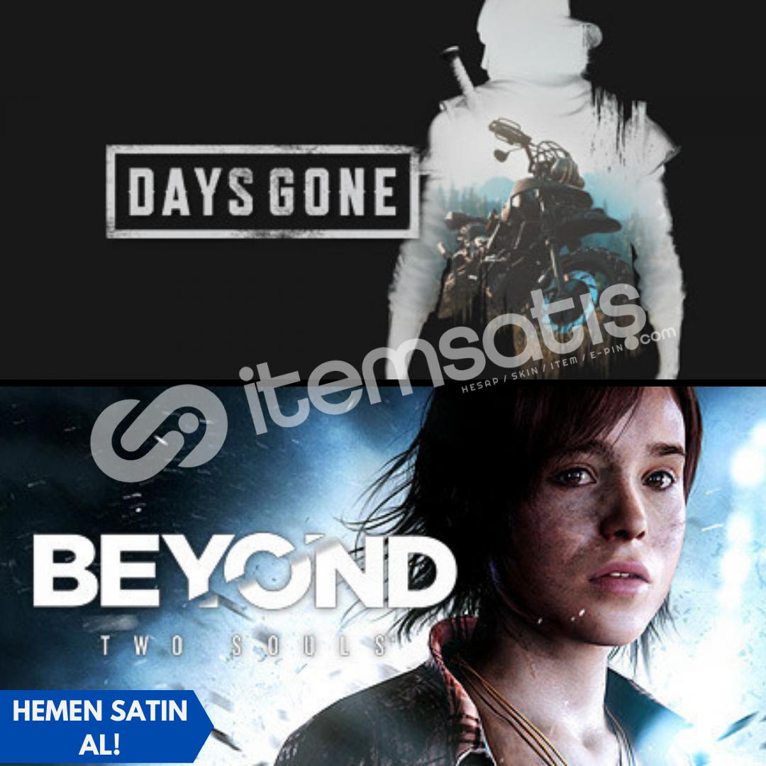 Days Gone + Beyond Two Souls + Garanti!