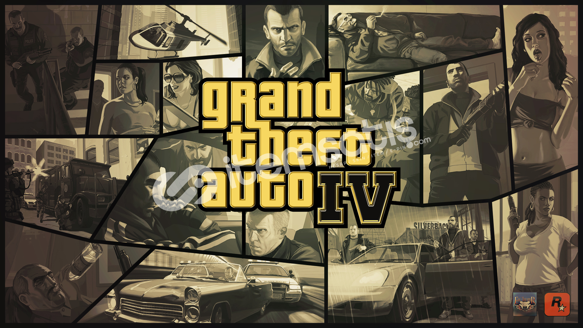 Grand Theft Auto IV: The Complete Edition (3.00TL)