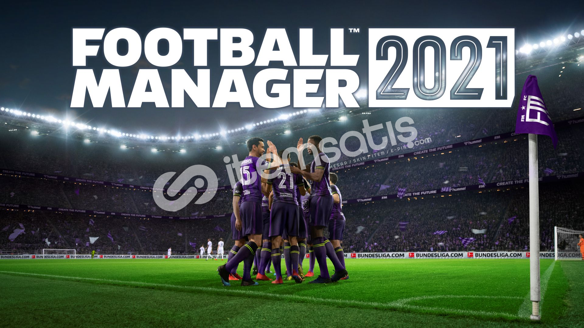 Football Manager 2021+Touch (3.00TL)