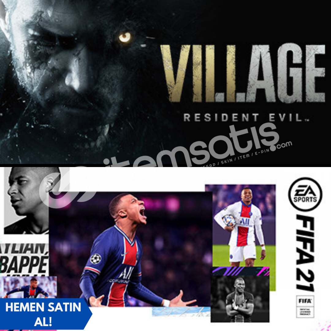 FIFA 21 + Resident Evil Village: Deluxe