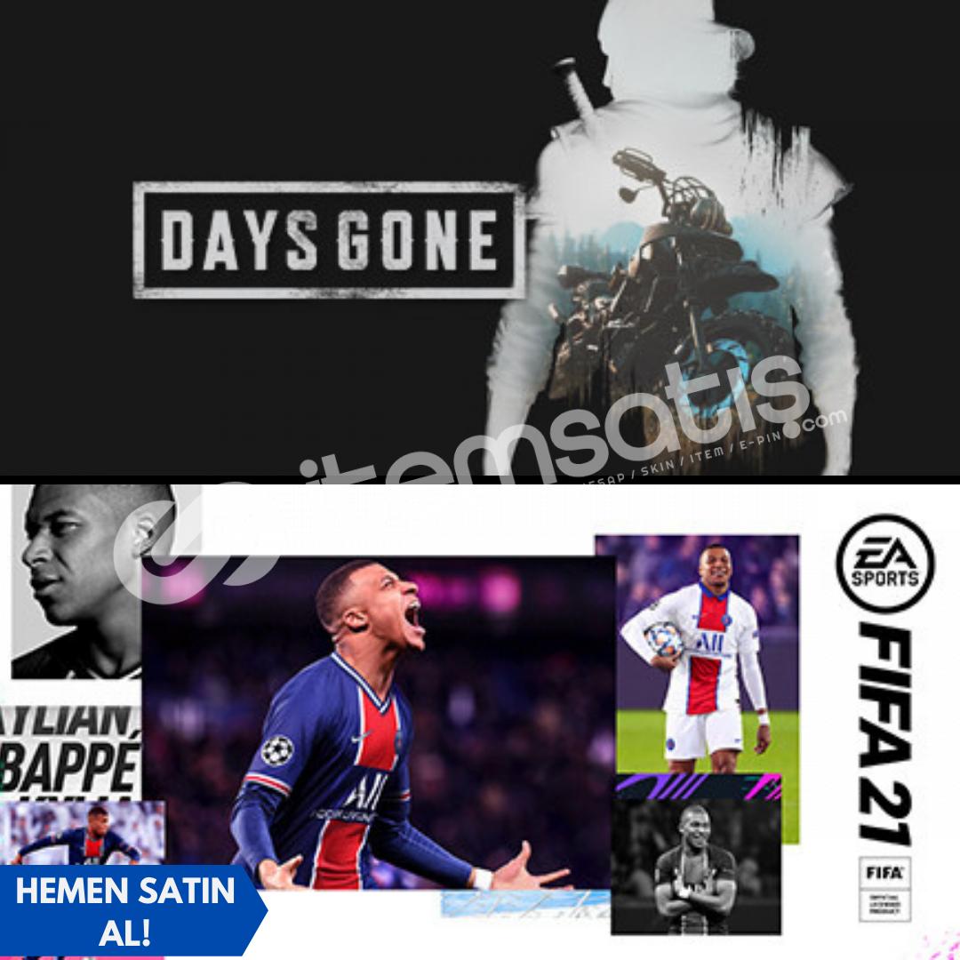 FIFA 21 + Days Gone + Garanti!