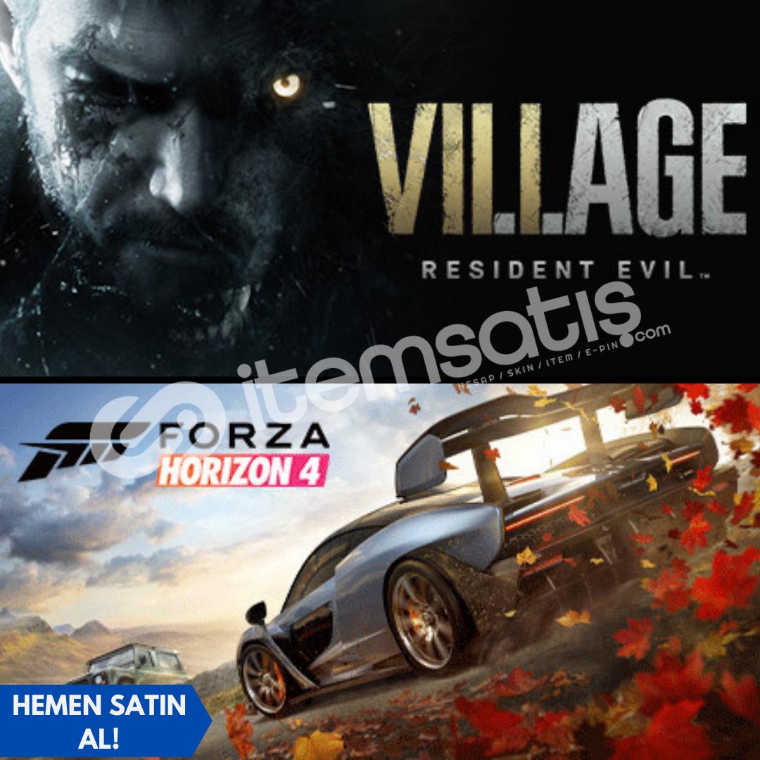 Forza Horizon 4 Ult + Resident Evil Village