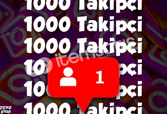 INSTAGRAM 1000 TAKİPÇİ (%50 Gerçek)