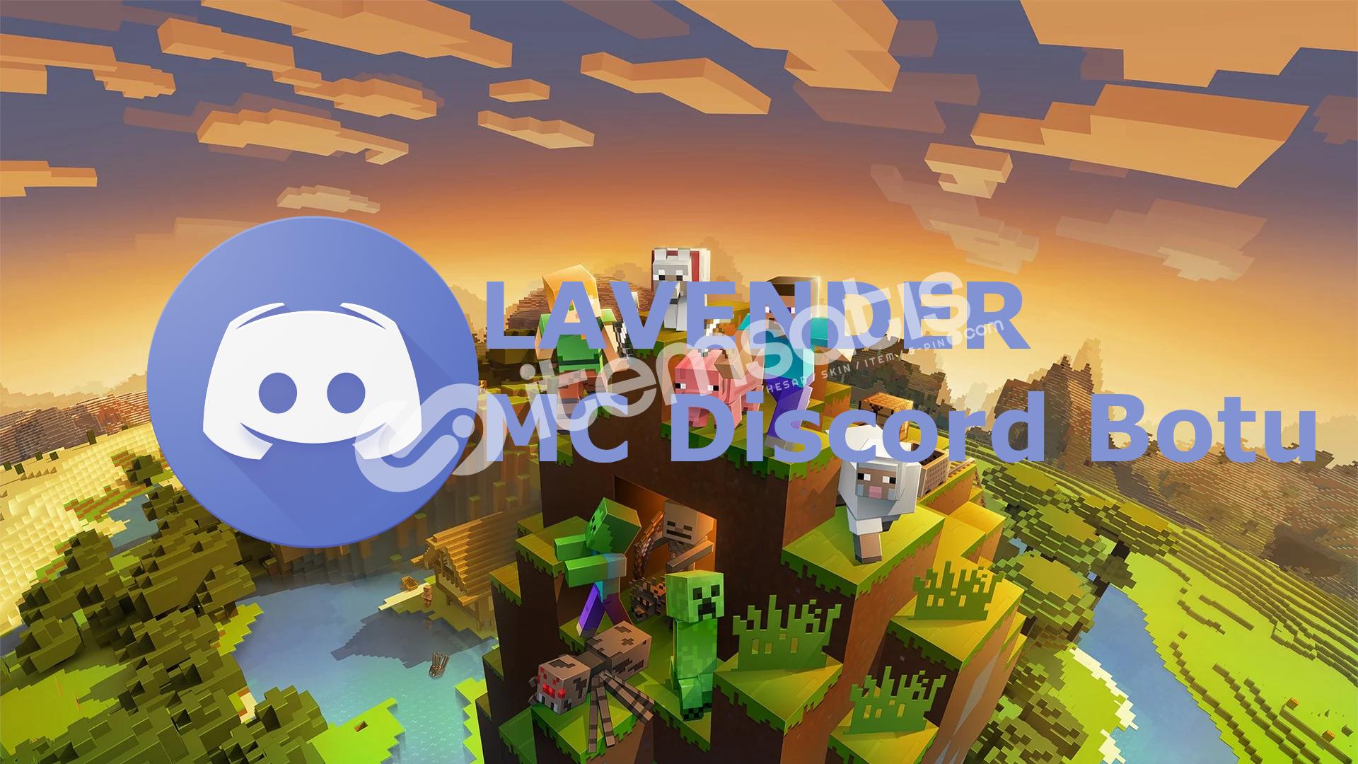 Minecraft Sunucuları İçin Özel Discord Botu