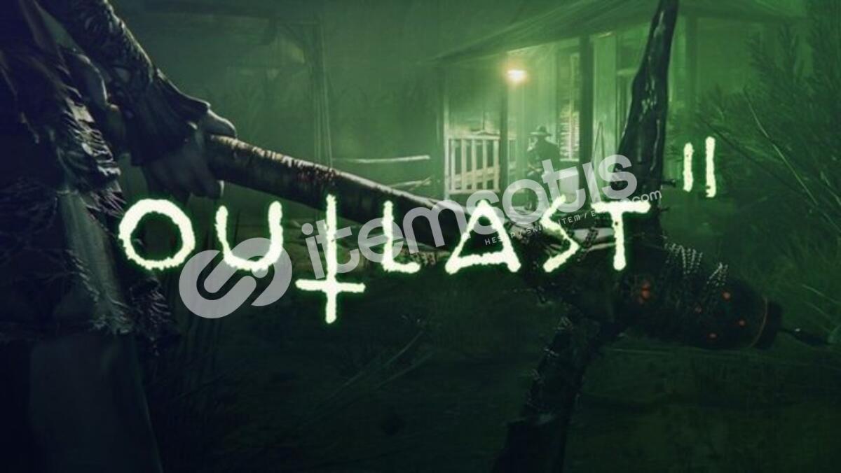 Outlast 2 Steam hesabı (GEFORCE NOW DESTEKLER GARANTİLİDİR!)