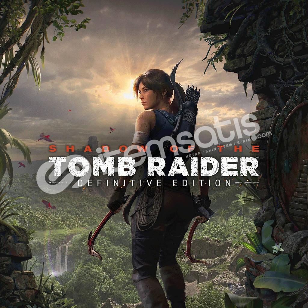 Tomb Raider Steam hesab (GEFORCE NOW DESTEKLER GARANTİLİDİR)