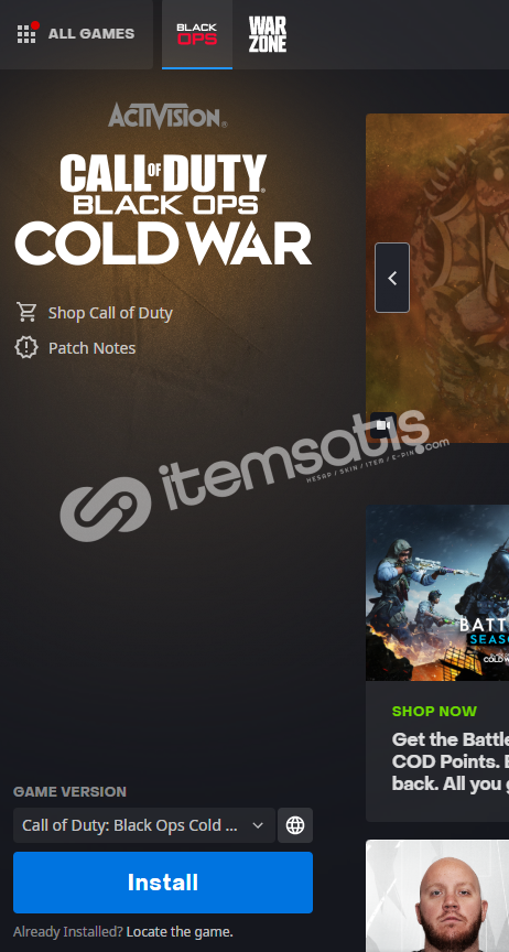 Call of Duty®: Black Ops Cold War + Warzone
