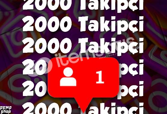 INSTAGRAM 2000 TAKİPÇİ (%50 Gerçek)