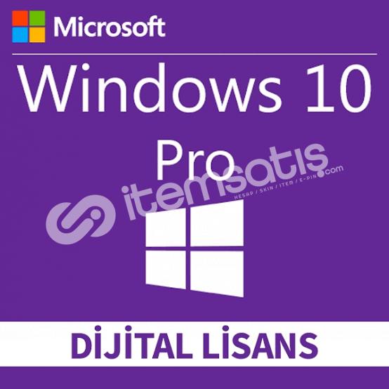 Windows 10 PRO 32/64 Bit Lisans Anahtarı