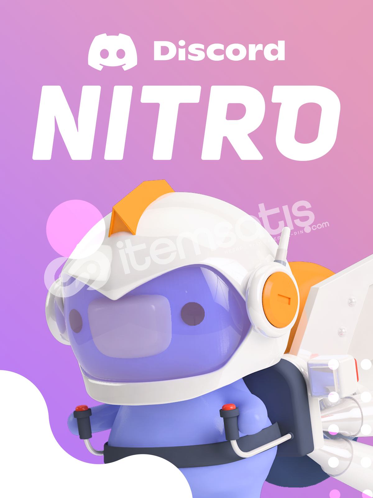 Discord Nitro 3 Aylık + 2 Boost