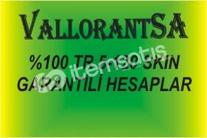 (%100 TR 5-120 SKİN GARANTİ HESAPLAR))