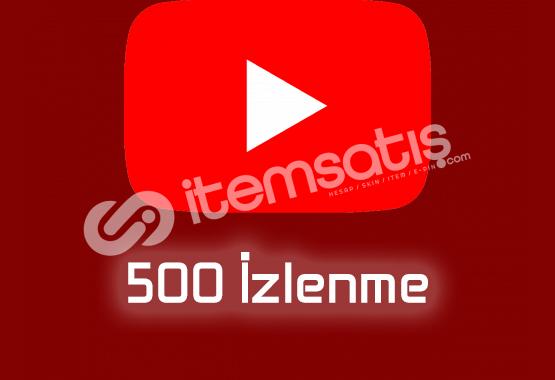 500 İzlenme GERÇEK TÜRK Maksimum 1 Gün