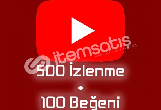 500 İzlenme+100 Beğeni GERÇEK TÜRK Maksimum 1 Gün İçinde