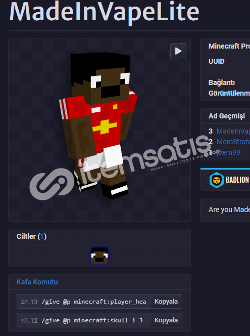Minecraft 2.el hesap