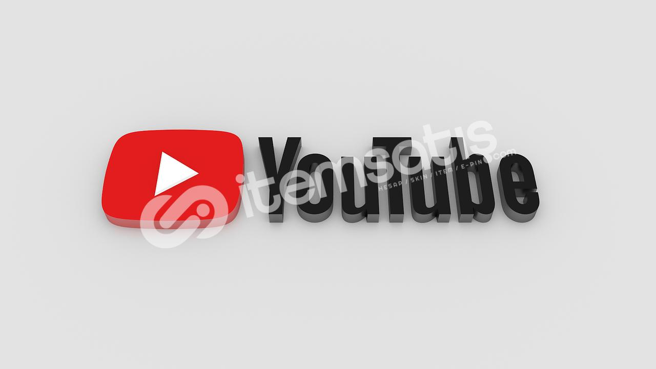 YouTube 3000 İzlenme ÖMÜR BOYU GARANTİLİ