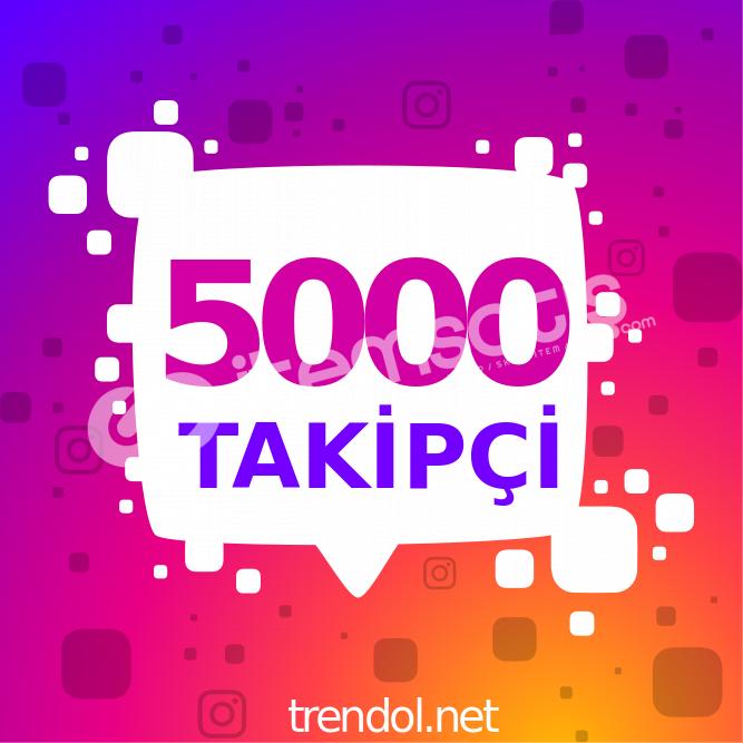 instagram düşmeyen takipçi 5.000
