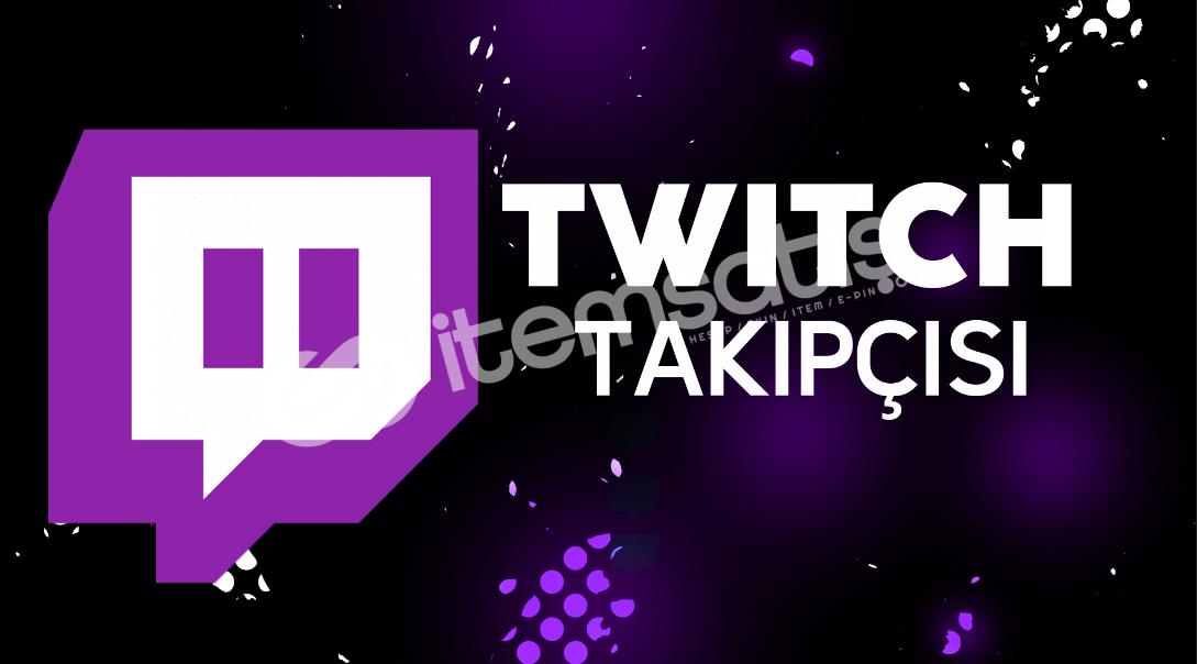 Twitch izlenme / beğeni / takipçi