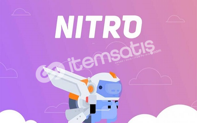 Discord Boostlu Nitro Gift Code (Aylık)
