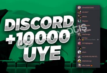 Discord +10000 Üye!