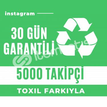 5000 [30 Gün Garantili] Takipçi Paketi