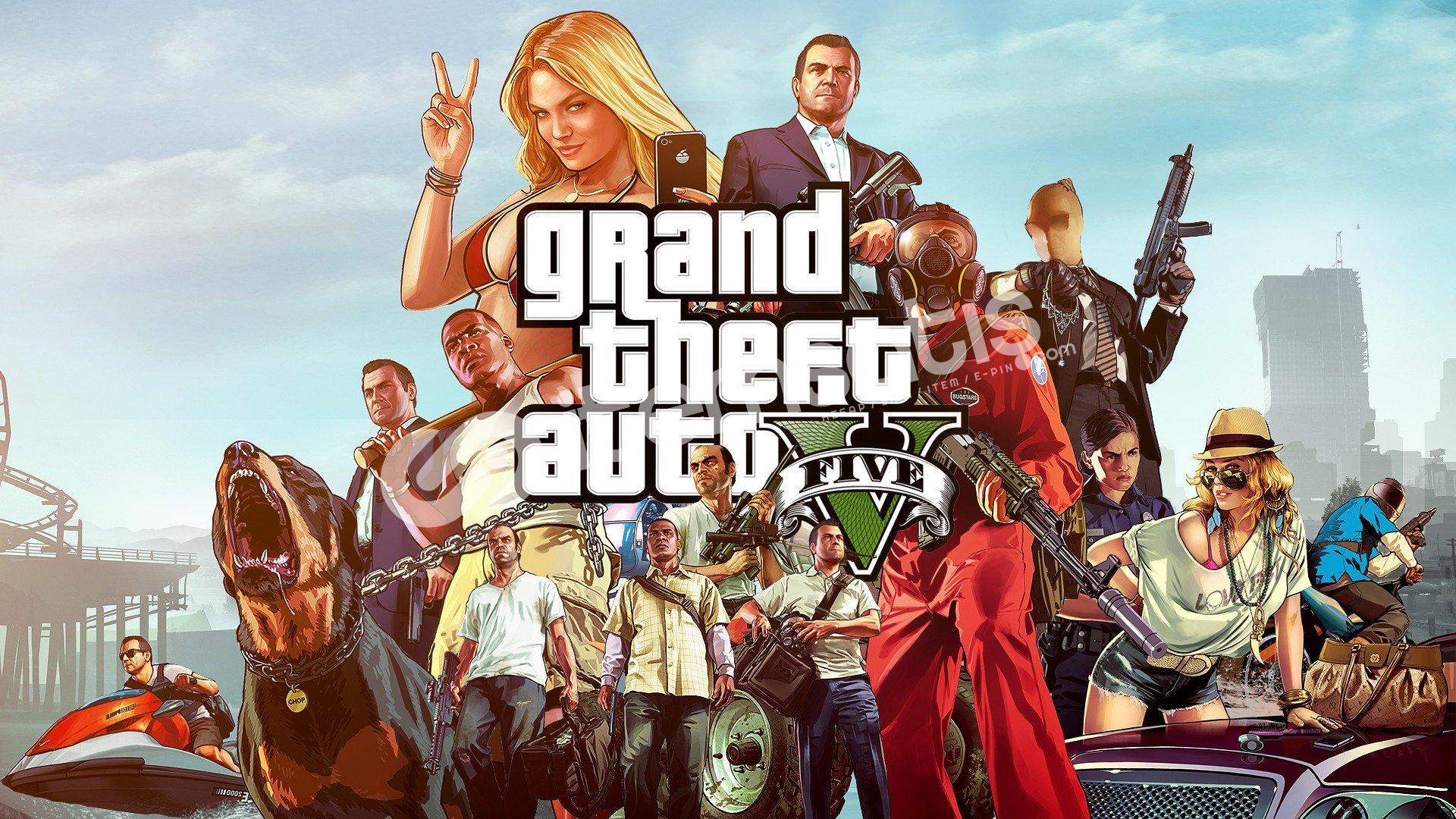 Epic Games Gta V Orijinal Hesap 1M $