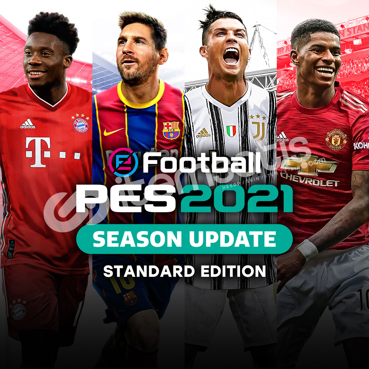eFootball PES 2021 SEASON + OTOMATİK TESLİMAT
