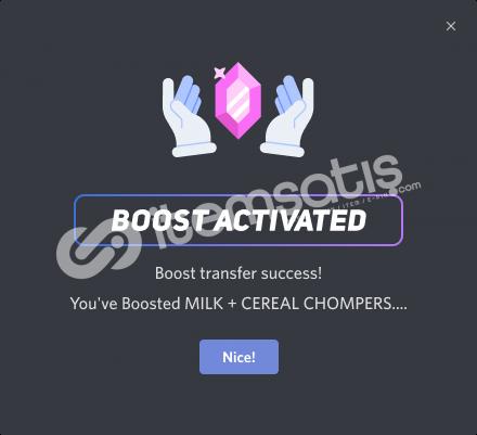 Discord 2 Boost 3 Aylık 4 TL