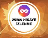 20000 Hikaye İzlenme (Tüm Hikayeler)