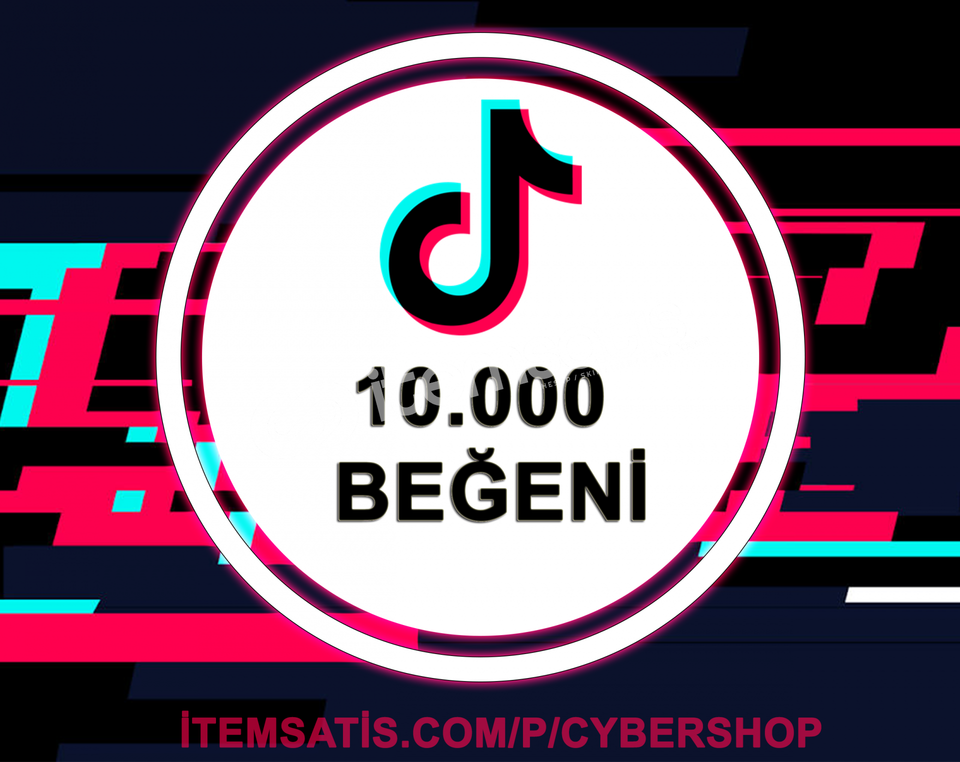 TikTok 10.000 Beğeni (Keşfet Etkili + Anlık Gönderim)