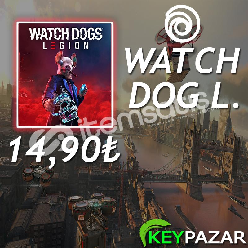 WATCH DOGS LEGİON ÖMÜR BOYU GARANTİ + HEDİYELİ! UPLAY