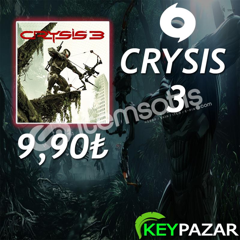 CRYSIS 3 ÖMÜR BOYU GARANTİ + HEDİYELİ! ORİGİN