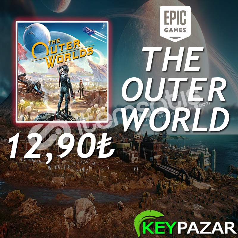 THE OUTER WORLDS ÖMÜR BOYU GARANTİ + HEDİYELİ! EPİC GAMES