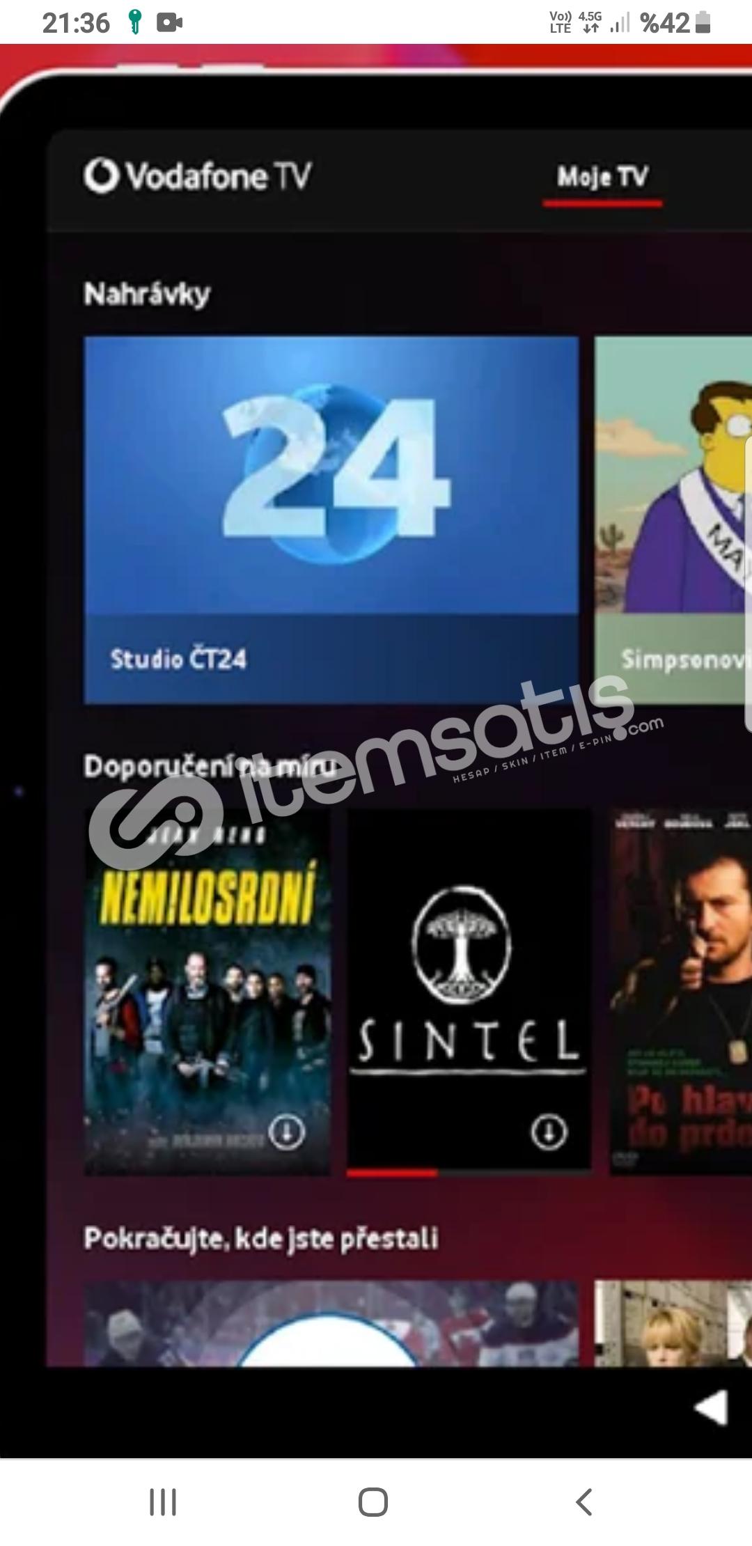 VADOFONE TV FULL PAKET 1 AYLIK 3 AYLIK