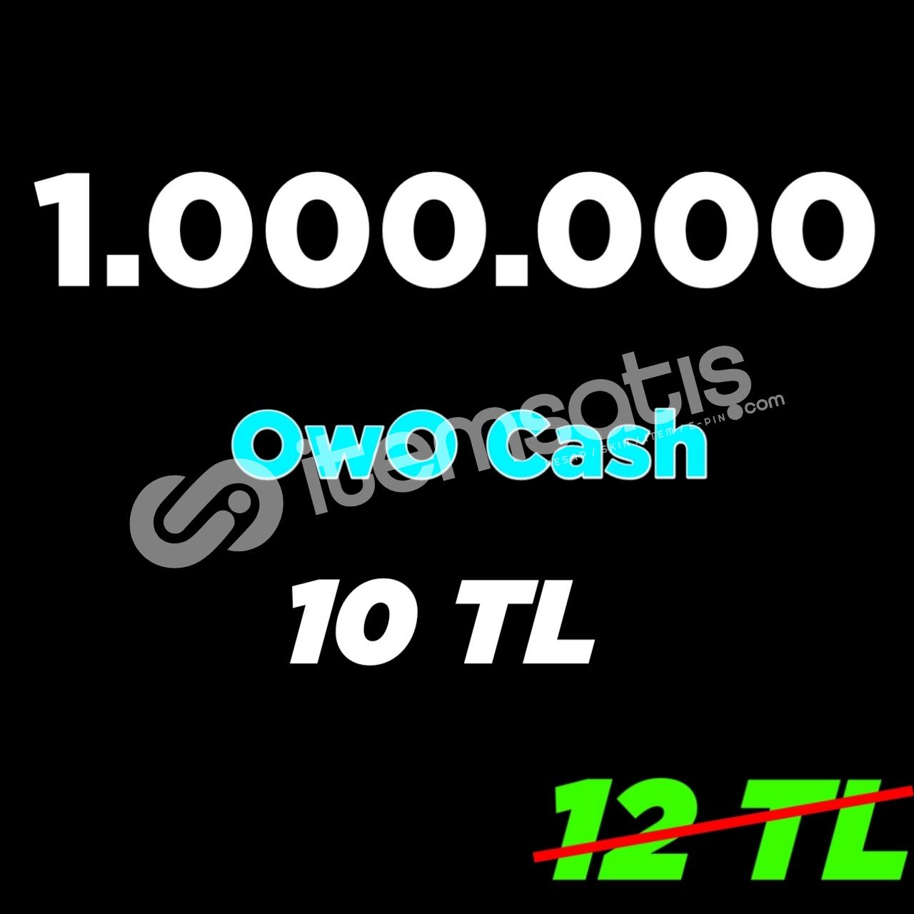 1 Milyon OwO 10 TL