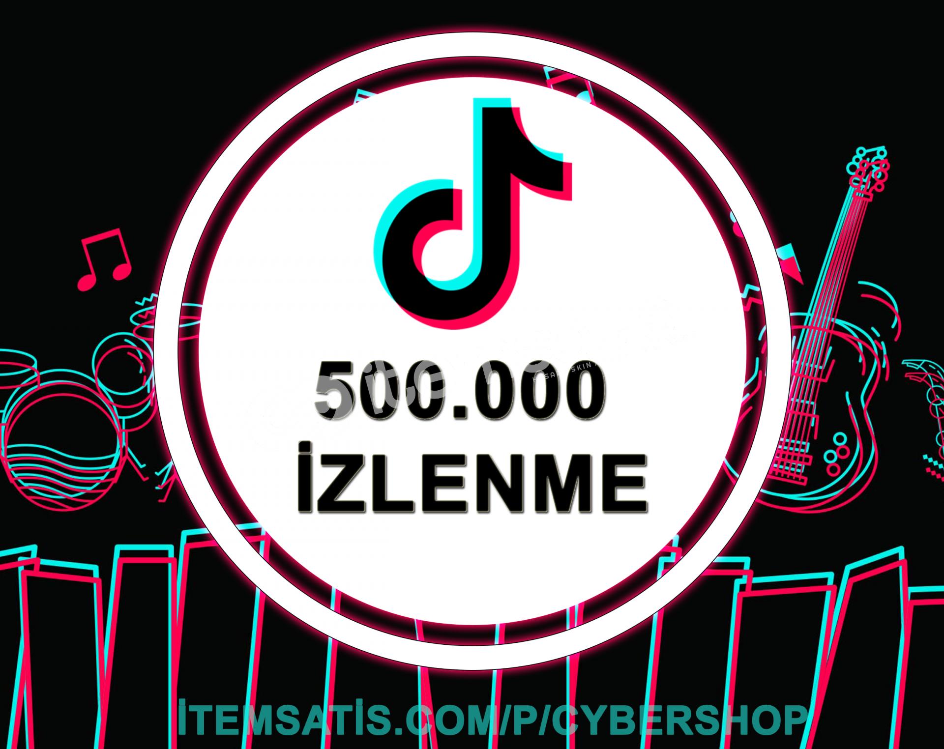 500.000 İzlenme Paketi (Keşfet Etkili + Anlık Gönderim)