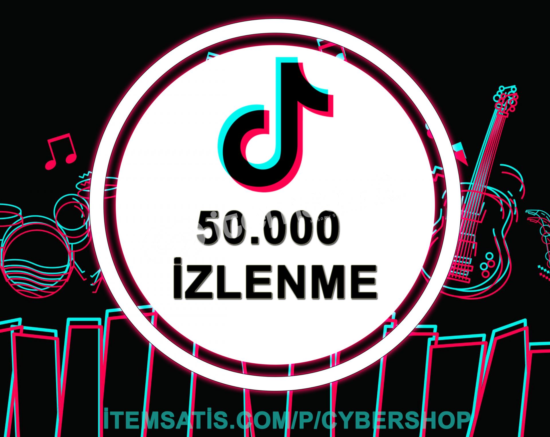 50.000 İzlenme Paketi (Keşfet Etkili + Anlık Gönderim)